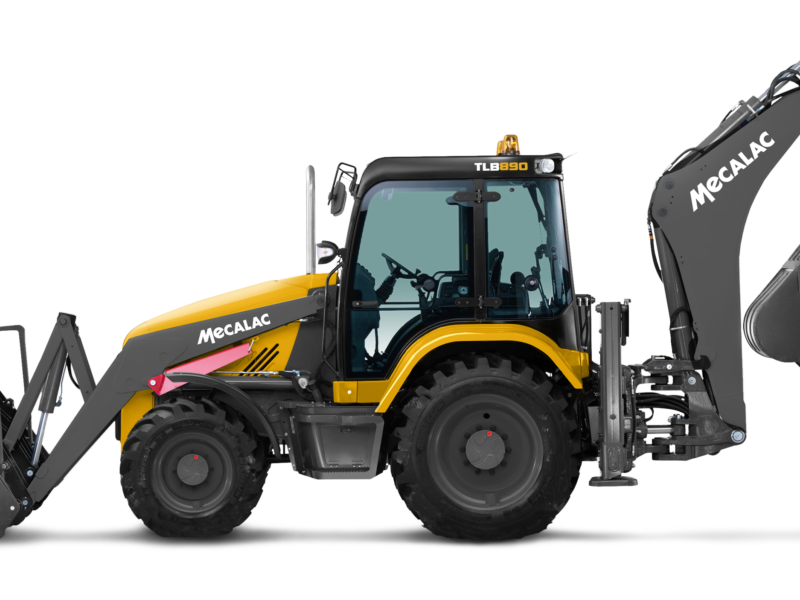 Backhoe loaders - sideshift