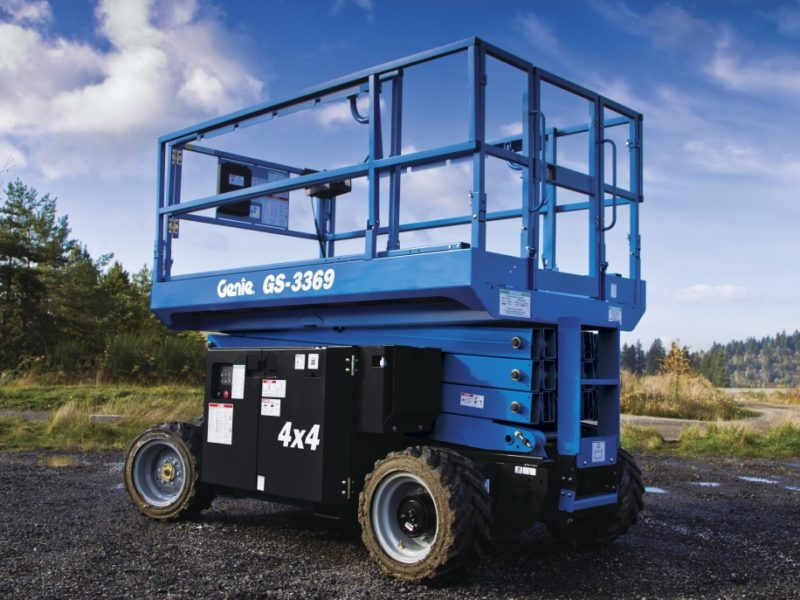 Bi-Energy Hybrid Scissor Lifts