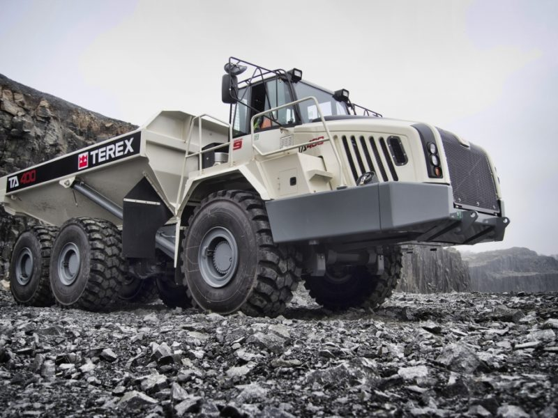 TA400 in UK Quarry1