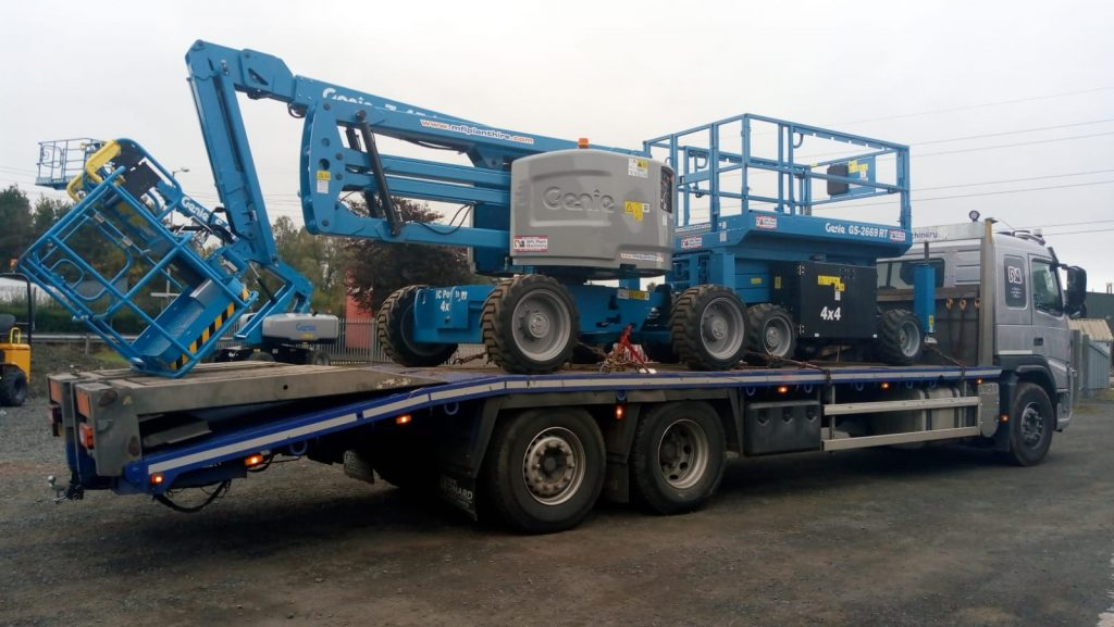 genie access platforms from Sleator Plant