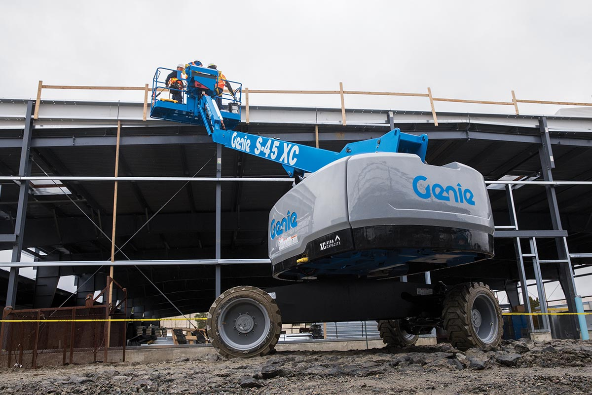 Safe Work Practices on Genie Access Machinery