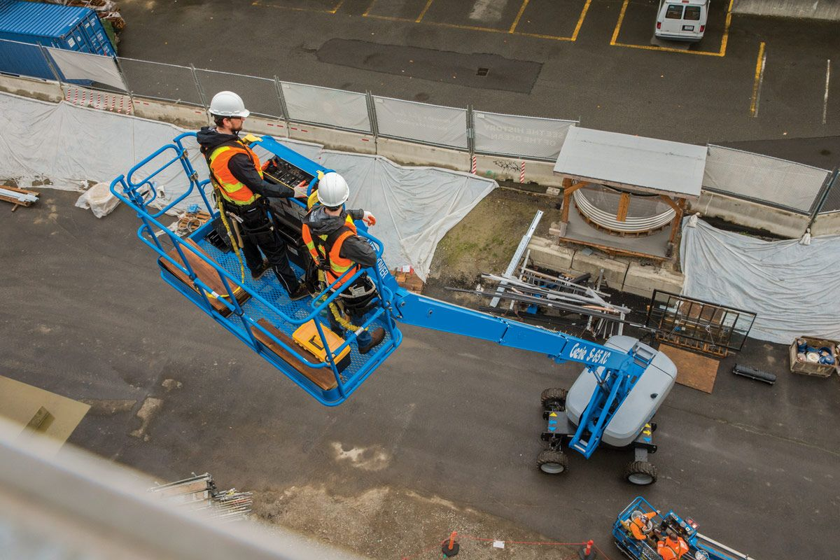 Genie Access Machinery is Available at Sleator Plant