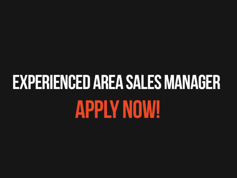 Experienced Area Sales Manager