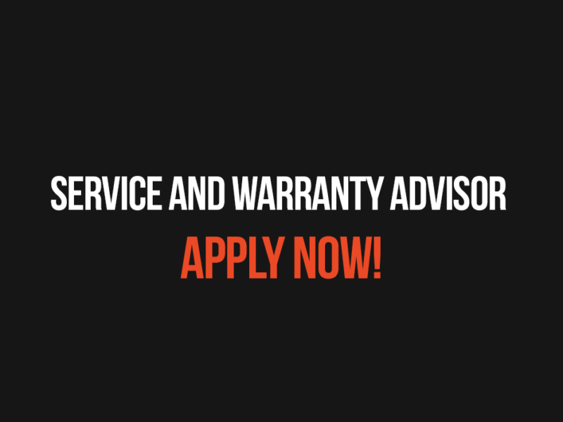 Service and Warranty Advisor